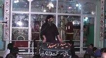 Zakir Syed Ali Naqi Mehdi  Imam Bargha Hassan Mujtaba a.s Faisalabad  part 3