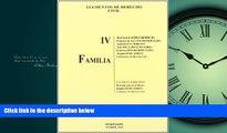 FREE DOWNLOAD  Elementos de derecho civil / Elements of civil rights: Familia / Family (Spanish