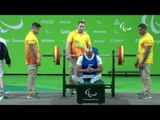 Powerlifting | ZELAYA DIAZ Gabriel | Men's -72kg | Rio 2016 Paralympic Games
