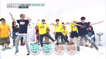 [ENG SUB] KNK, ASTRO & 4TEN's Cover Dance Battle (Weekly Idol Super Rookies E256)