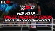 WWE 2K17 - EXTREME Fun With Tables, Ladders & Chairs! (WWE 2K17 Extreme & Epic Moments) #WWE2K17