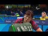 Table Tennis | Women's Singles - Class 5 Quarterfinal 3 | Rio 2016 Paralympic Games
