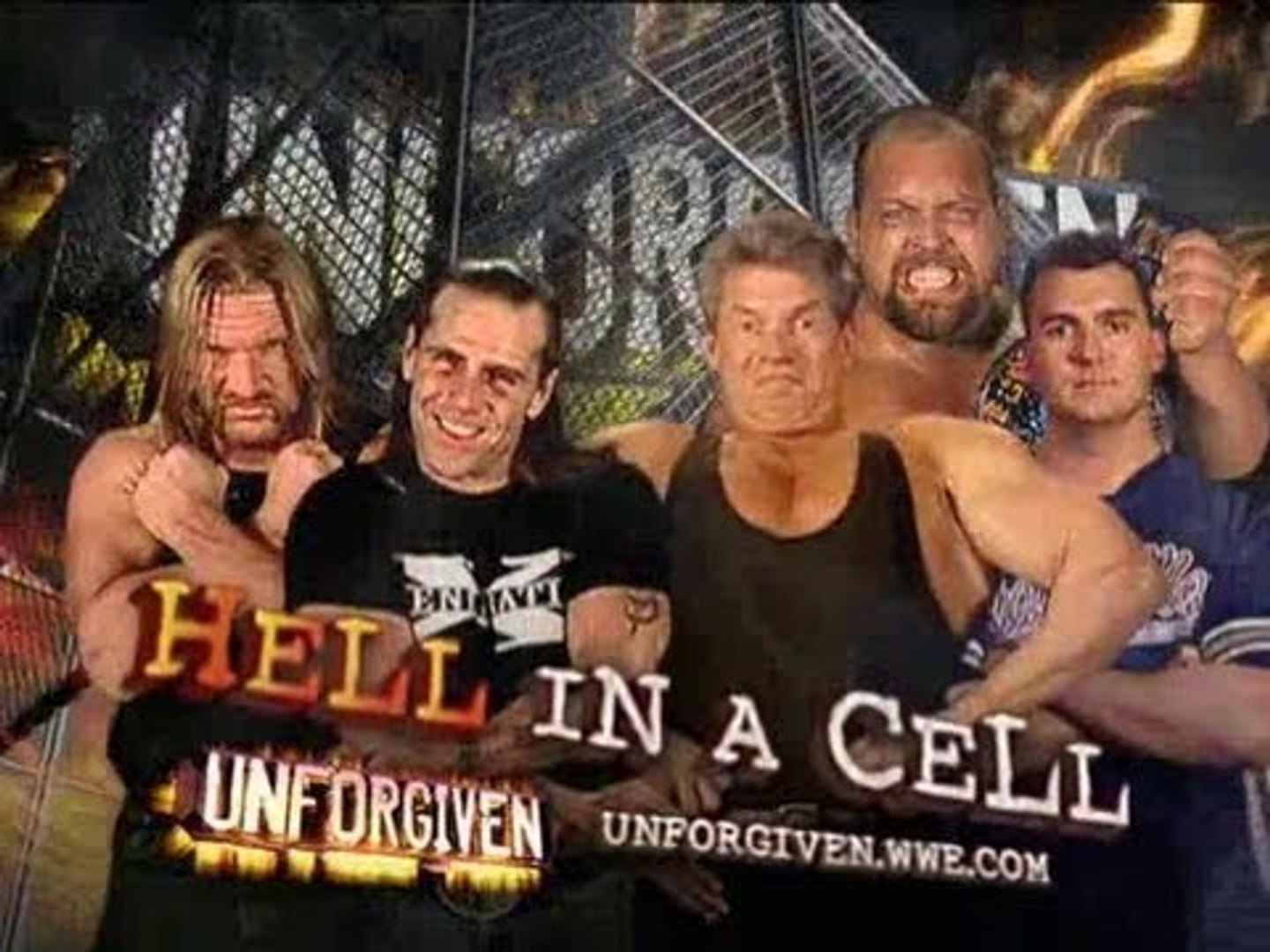 Wwe Unforgiven 2006 Dx Vs The Mcmahons And Big Show видео Dailymotion
