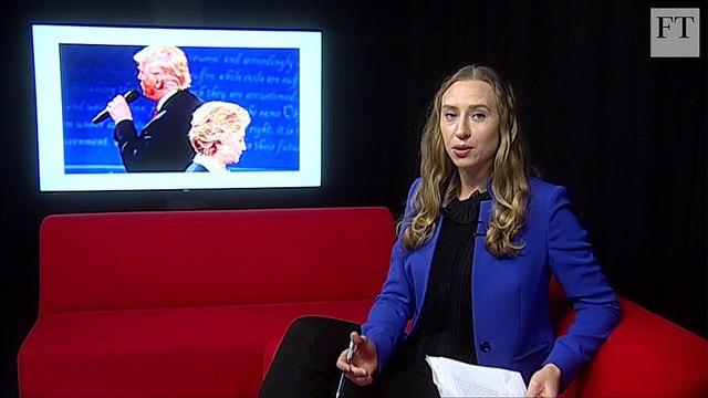 US presidential debate, UK inflation