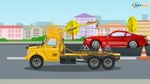 Czerwony Traktor dla dzieci - Samochodziki dla dzieci | Bajki dla dzieci po polsku