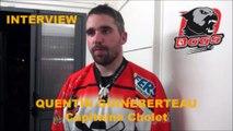 HH Interview 2016-10-15 Quentin Guineberteau Capitaine des Dogs de Cholet - D1 - Clermont VS Cholet