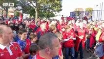 Mort d'Anthony Foley : Hommage poignant des supporters des deux équipes à Colombes