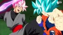 Dragon Ball Super「AMV」- Goku ssj Blue vs. black ssj rose & God zamasu immortal vs. trunks [HD]