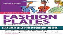 [EBOOK] DOWNLOAD Careers for Fashion Plates   Other Trendsetters PDF