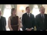 Roma - Incontro del Presidente Mattarella con i membri del Governo (14.10.16)
