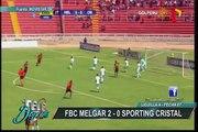 Sporting Cristal cayó ante Melgar en Arequipa