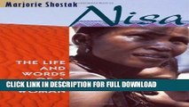 [DOWNLOAD PDF] Nisa: The Life and Words of a !Kung Woman READ BOOK ONLINE