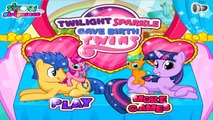 Twilight Sparkle Pregnant Gave Birth to Twins - My Little Pony Baby Birth Games for Kids