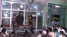 Zakir Syed Ali Naqi Mehdi  Imam Bargha Hassan Mujtaba a.s Faisalabad  part 2