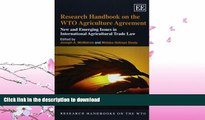 READ  Research Handbook on the WTO Agriculture Agreement: New and Emerging Issues in