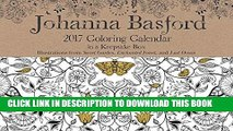 [PDF] Johanna Basford 2017 Coloring Day-to-Day Calendar Full Collection[PDF] Johanna Basford 2017