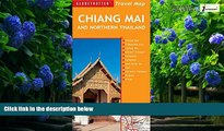 Big Deals  Chiang Mai and Northern Thailand Travel Map, 5th (Globetrotter Travel Map)  Best Seller