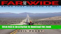 [PDF] Far and Wide: Bring That Horizon to Me! Full Online