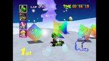 Mario Kart 64 - Flower Cup - Nintendo 64
