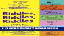 [DOWNLOAD] PDF BOOK Riddles, Riddles, Riddles (Dover Children s Activity Books) New