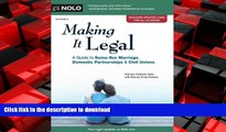 READ ONLINE Making It Legal: A Guide to Same-Sex Marriage, Domestic Partnerships   Civil Unions