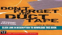 [DOWNLOAD] PDF BOOK Don t Forget the Duct Tape: Tips   Tricks for Repairing   Maintaining