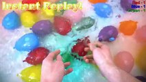 Best Water Balloon Popping Video for Kids׃ Learn Colors & Counting by Popping Water Balloons!