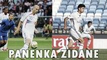 La panenka d'Enzo Zidane vs la panenka de Zinedine Zidane