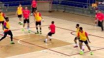 FCB Hándbol: Xavi Pascual, previa FCB Lassa-BM Villa de Aranda [ESP]