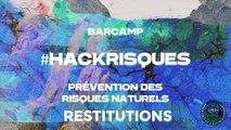 #HackRisques : restitution des ateliers de réflexion collaborative dédiée à la prévention des risques naturels