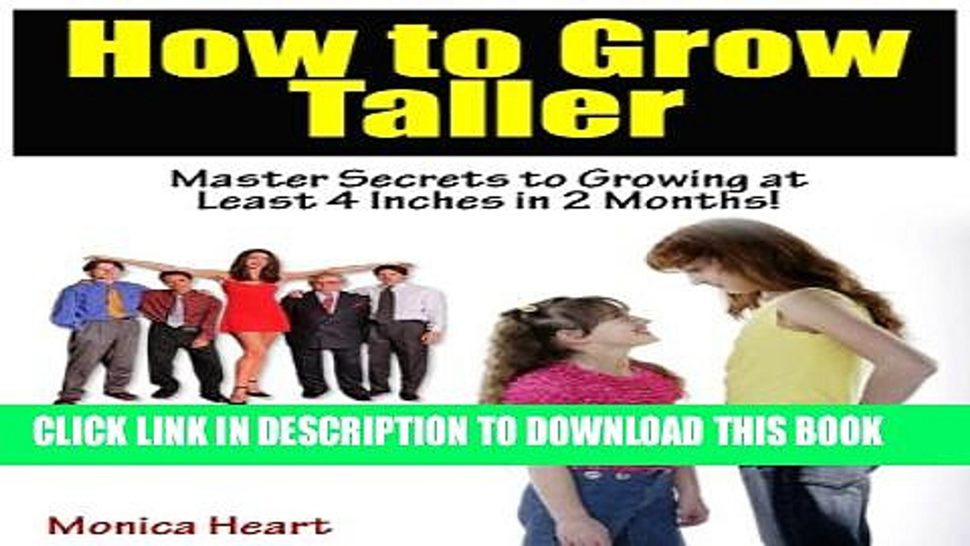EBOOK] DOWNLOAD How to Grow Taller