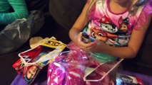 LITTLE GIRLS HYPED UNBOXING NEW WWE WOMENS WRESTLING FIGURES!