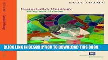 [PDF] Castoriadis s Ontology: Being and Creation (Perspectives in Continental Philosophy) Popular