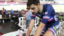 """Championnats d'Europe sur Piste 2016 - Thomas Denis : """"Sylvain Chavanel, on dirait un gosse"""""""