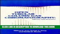 Read Open Tubular Column Gas Chromatography: Theory and