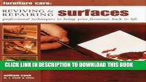 [PDF] Furniture Care: Reviving and Repairing Surfaces: Professional Techniques To Bring Your