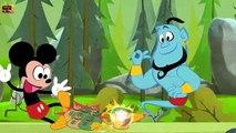 Peppa Pig Disney Finger Family Nursery Rhymes Lyrics ★ Peppa Pig,Donald Duck,Mickey Mouse vs Aladdin Finger Song
