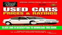[BOOK] PDF Edmund s Used Cars   Trucks: Prices   Ratings 1999 : Winter (Edmund s Used Car Prices