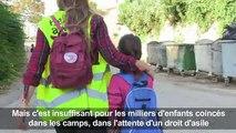 Grèce: la soif d'apprendre mal étanchée des enfants réfugiés