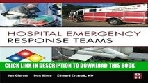 [PDF] Hospital Emergency Response Teams: Triage for Optimal Disaster Response Popular Online