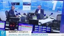 Le journal des sports - Lyon face à la Juventus de Turin en Ligue des champions