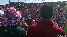 """Bill Murray fait chanter des milliers de spectateurs """"America"""" à la Ryder Cup de Golf"""