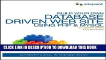 [Read PDF] Build Your Own Database Driven Web Site Using PHP   MySQL Download Online