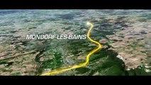 Le parcours en 3D / The route in 3D - Tour de France 2017