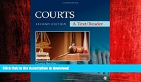 FAVORIT BOOK Courts: A Text/Reader (SAGE Text/Reader Series in Criminology and Criminal Justice)