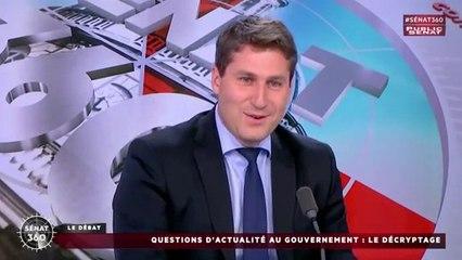 Propos de F. Hollande sur la magistrature, débat de la primaire, agression de policiers...  réaction sur Public Sénat