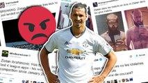 MU : Zlatan Ibrahimovic fracassé sur Twitter !
