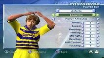 AC Parma Fifa 2001 Squad Faces Buffon Cannavaro Baggio Mboma Ortega Fuser Thuram