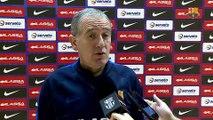 FCB Futbol Sala: Andreu Plaza y Diego Quintela previa Castelldefels-FCB Lassa [ESP]