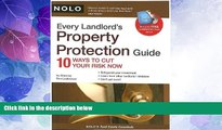 Must Have PDF  Every Landlord s Property Protection Guide: 10 Ways to Cut Your Risk Now (book w/